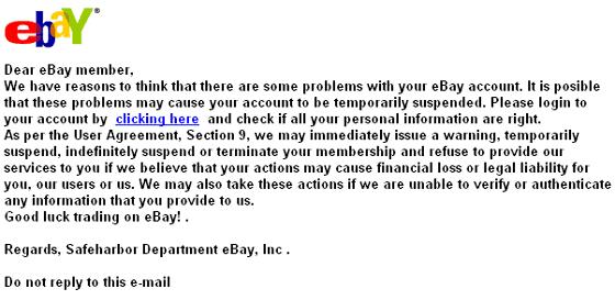 Ebay Account Suspended Need Verification