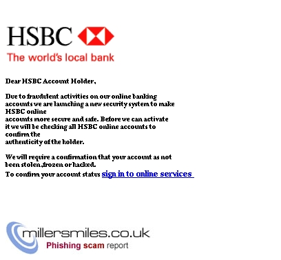 Important Message From Hsbc Bank Plc - HSBC Bank Plc<e_banking@HSBC