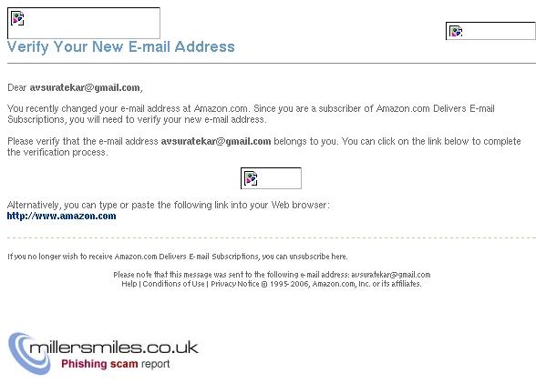 Amazon com: Please verify your new e-mail address - AMAZON