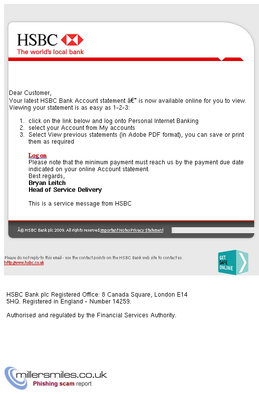 HSBC Bank Account Statement Is Now Available Online - Hsbc