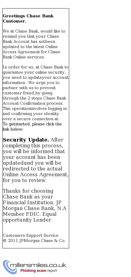 New Message From Chase Bank Chase Phishing Scams Millersmiles Co Uk