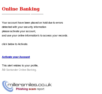 To access your records click below to activate activate your account