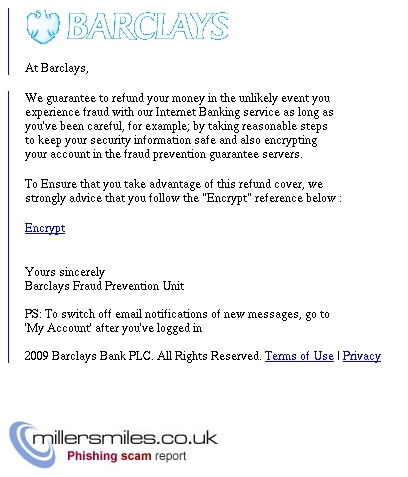 Protect Your Account With Barclays Fraud Refund Cover Barclays Bank Phishing Scams Millersmiles Co Uk