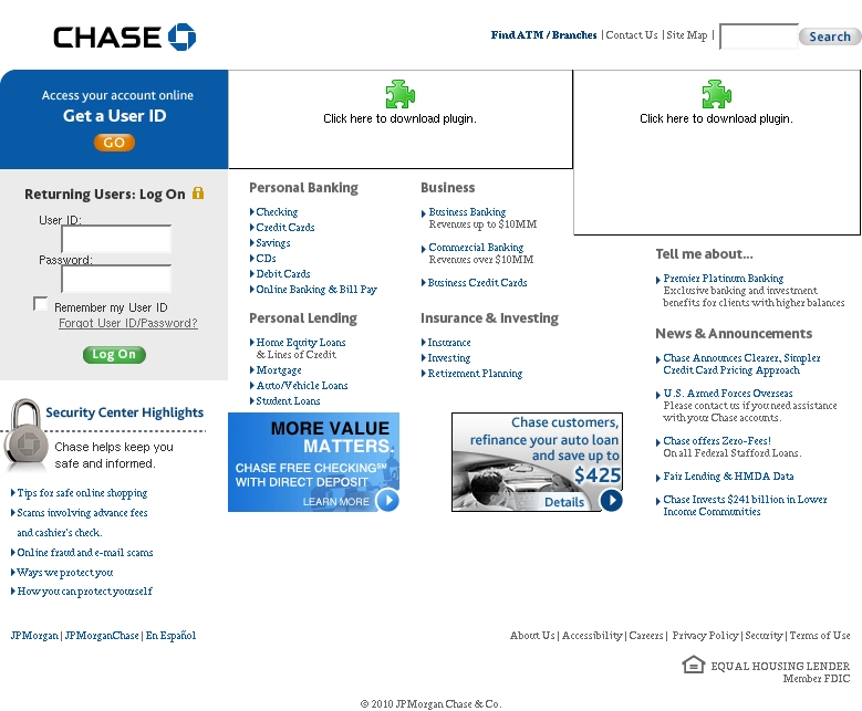 chase bank log