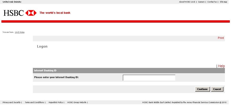 Your Internet Banking Suspended Notification! - HSBC Bank Middle