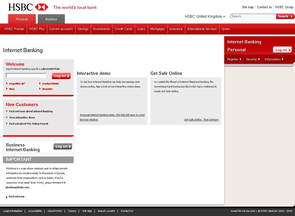 HSBC Bank Account Verification    - HSBC Bank plc Phishing