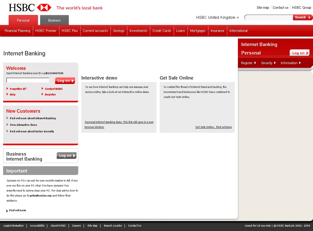 Business Internet Banking: Hsbc Business Internet Banking