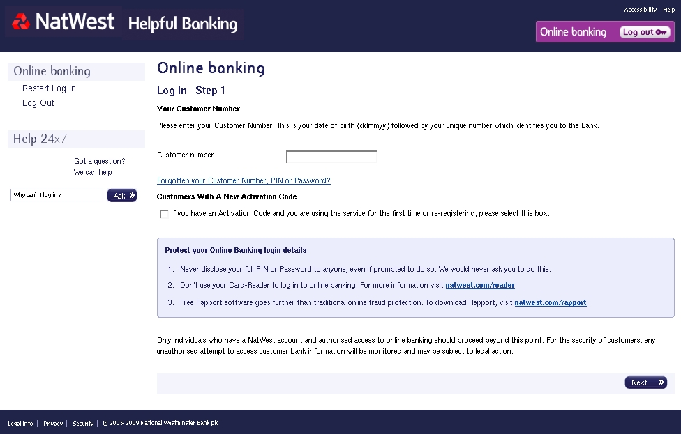 Account Statement Now Available - NatWest Bank Plc Phishing Scams